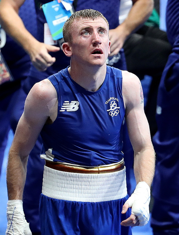 Can't believe it: Paddy Barnes exits