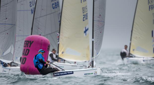 Giles Scott has forced his way back into contention for gold