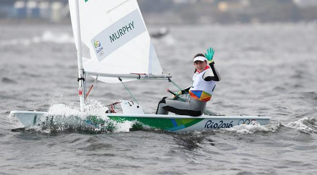 Annalise Murphy is on course to win a bronze in the Laser Radial