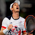 Double delight: Andy Murray