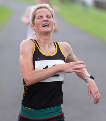 Bright comeback: Anne Marie McGlynn registered a number of personal bests