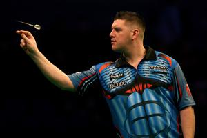 Bring it on: Daryl Gurney has no fear ahead of launching his bid to become Northern Ireland's first darts world champion