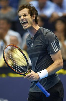 Roaring back: Andy Murray has been in top form recently