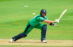 Future plans: Ireland skipper Andrew Balbirnie is already looking ahead to 2023