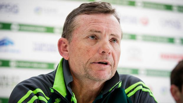 Forward thinking: Graham Ford knows Ireland must build for the future