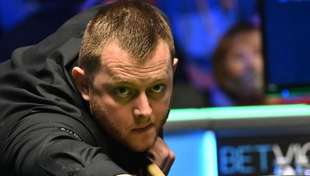 Home favourite: Mark Allen thrilled NI fans with his quarter-final victory