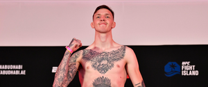 No excuses: Rhys McKee took the fight at short notice