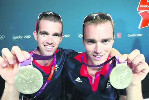 Olympic medallists Richard and Peter Chambers hoping to go one better in this year's World Championships