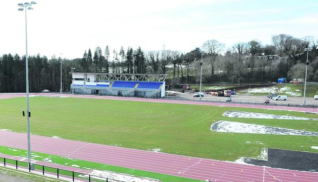 New look eight-lane Mary Peters Track and grandstand