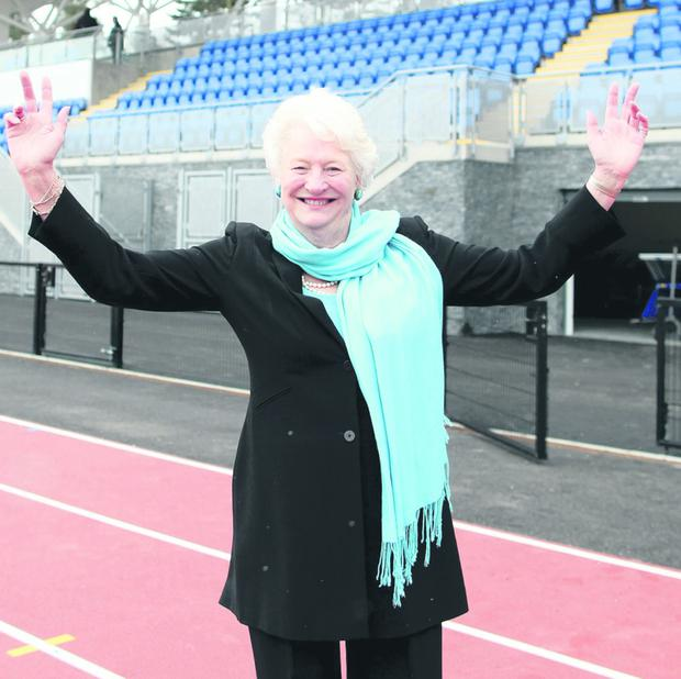 Dame Mary Peters unveils new £3m facilities