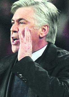 Paris St Germain manager Carlo Ancelotti could be heading to Madrid