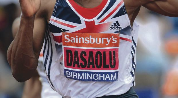 Focus: James Dasaolu insists athletes must keep their eyes on the prize