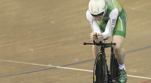 Martyn Irvine won gold at the Track World Cup last weekend