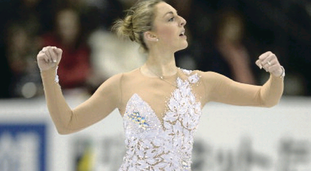 Coleraine's Jenna McCorkell is on her way to the Winter Olympics after skating to an 11th British Championship success – and her eighth in succession – in Sheffield