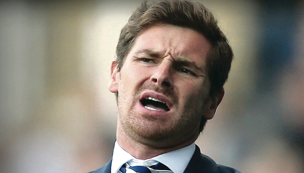 Andre Villas-Boas was sacked yesterday by Tottenham Hotspur