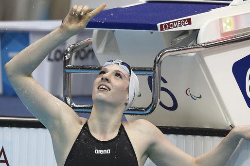 Different course: Paralympic gold medallist Bethany Firth will now swim for Great Britain rather than Ireland