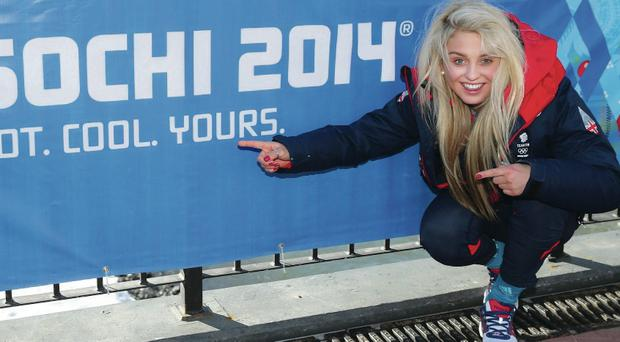 Aimee Fuller is raring to get her first Winter Olympic Games underway