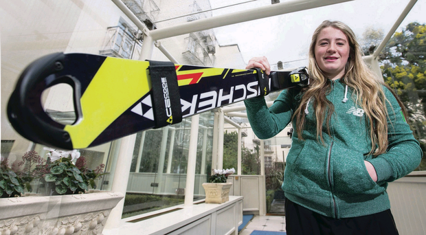 Flo Bell manages to combine competing for Team Ireland with studying for her A levels
