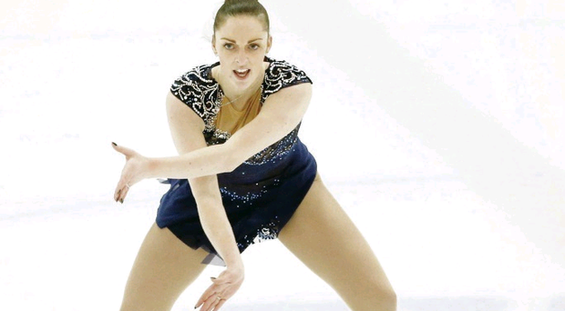 Jenna McCorkell is ready to sparkle in Sochi