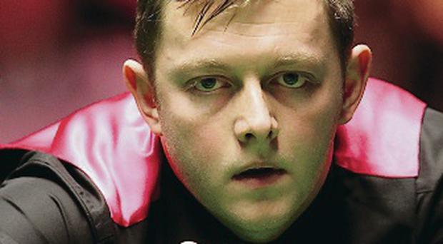 Good run: Mark Allen has cruised through to last eight in Preston