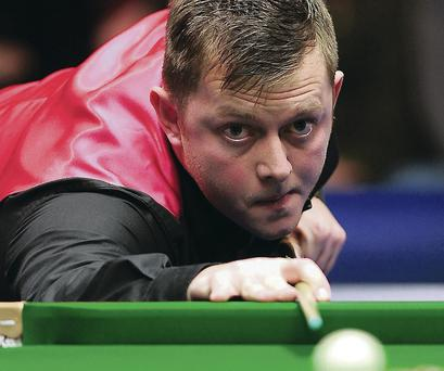 On target: Mark Allen is bidding for a first World title