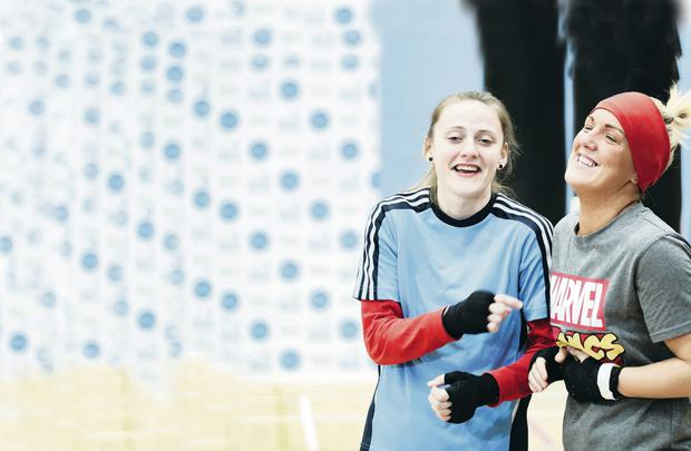 Boxing Camp: Michaela Walsh and Alanna Audley-Murphy
