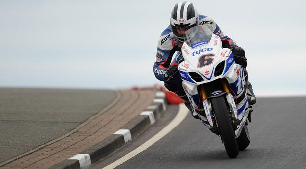 Beaming: William Dunlop is looking forward to racing on his new BMW machine