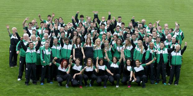 Northern Ireland's Commonwealth Games team members set off for Glasgow to take part in the 2014 games