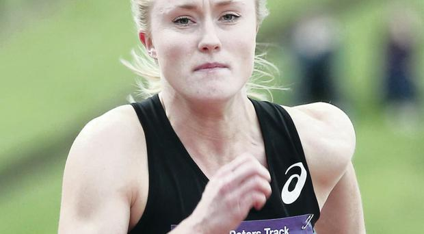 Bright future: Amy Foster is determined to continue her progress in the years ahead