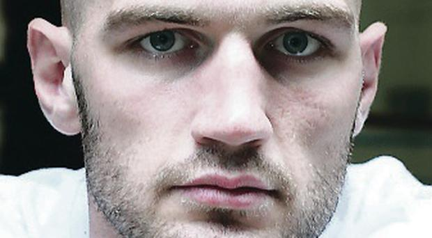 Single-minded: Steven Ward's gaze is fixed on the big prize