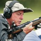 So close: David Calvert missed out on a medal by a single point
