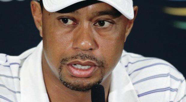 Aiming high: Tiger Woods wants to define his year this fortnight