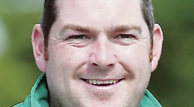 Hat-trick: Neil Mulholland into his third NIBA final