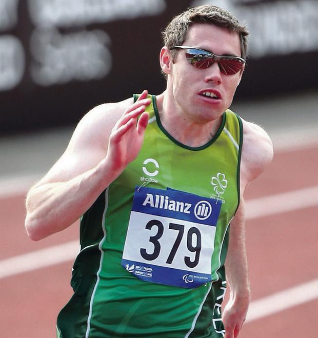 Double top: Jason Smyth powers to 200m gold, his second victory of the European Championships