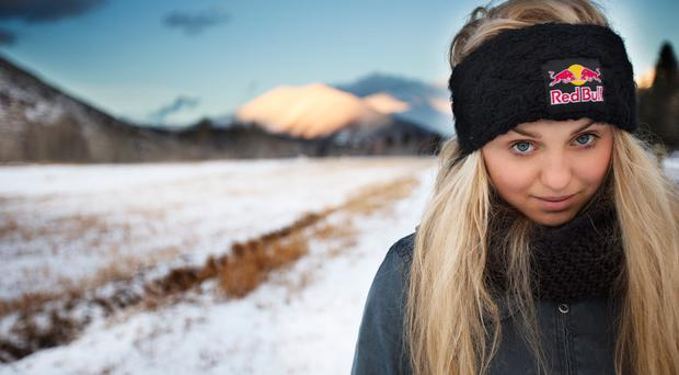 Blonde ambition: Aimee Fuller has new peaks in her sights