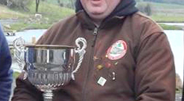 Top catch: Cahir McGovern, after winning Omagh Angling Forum's charity competition at Birchwood Fishery, Drumquin