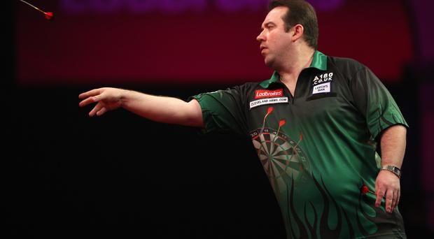 Taking aim: Brendan Dolan has set his sights on becoming the first Irish world champion