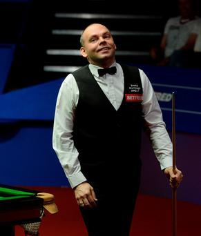Just champion: Gutsy Stuart Bingham landed World title