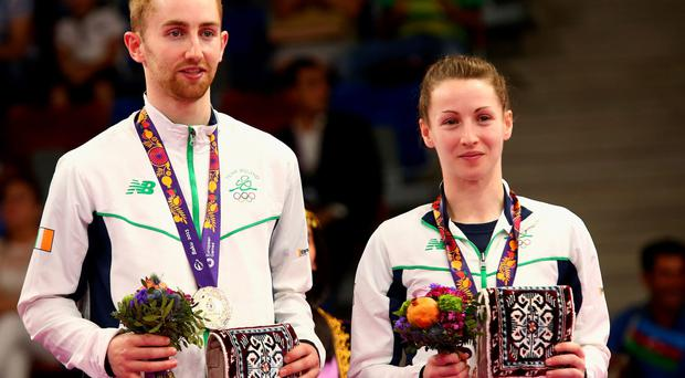 Family affair: Sam and Chloe Magee take bronze in Baku