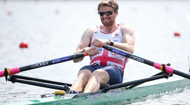 Ready to roar: Alan Campbell is racing in the World Championships again and will hope to deliver for Team GB, as will the Chambers brothers, Richard and Peter