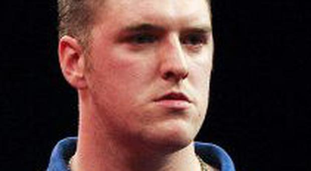 Super showing: Daryl Gurney reached the semis
