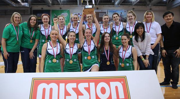 Mission statement: Northern Ireland's netball side bask in the glory of their second Nations Cup triumph in Singapore at the weekend