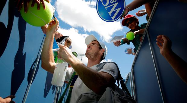 Signing off: Andy Murray will take a break from tennis after losing the Western & Southern Open final in Cincinnati to Marin Cilic