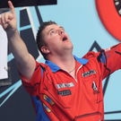 Arrowing ahead: Daryl Gurney