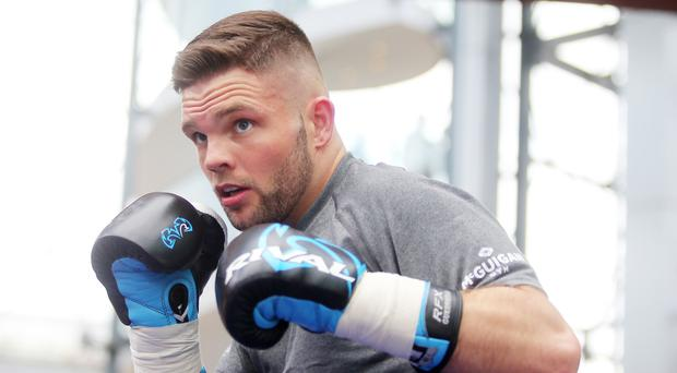 Fight night: Conrad Cummings has joined the undercard for Carl Frampton's bout at Windsor Park.