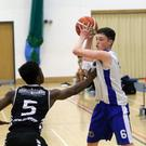 On point: Belfast's Star's CJ Fulton in action against Swords Thunder