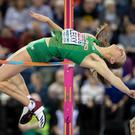 High flier: Sommer Lecky
