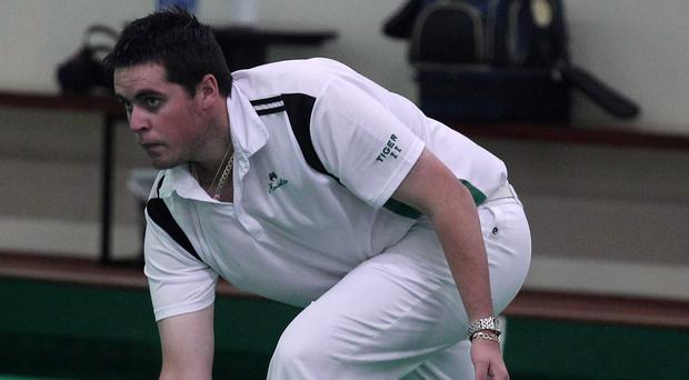 Focused: Gary Kelly is in hunt for more British Isles Championships success