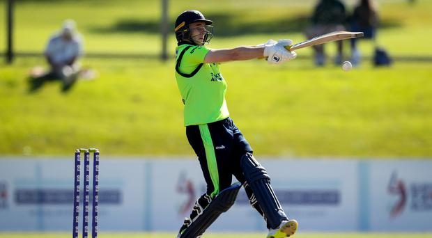 Big hitter: Lorcan Tucker top scored for Ireland with 31