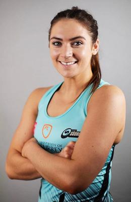 Setback: Emma Magee saw her Surrey Storm debut cut short by injury